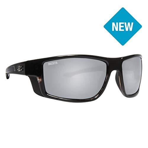 Calcutta D1SMTORT Dorsal Sunglasses Shiny Black Fade to Tortoise Frame