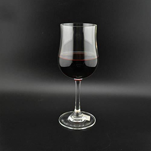 BWM Weinglas Set Kelch Weinglas Glas Becher Swig Weinglas Glas Wein Becher Glas Wein Tumbler 6 Stück.