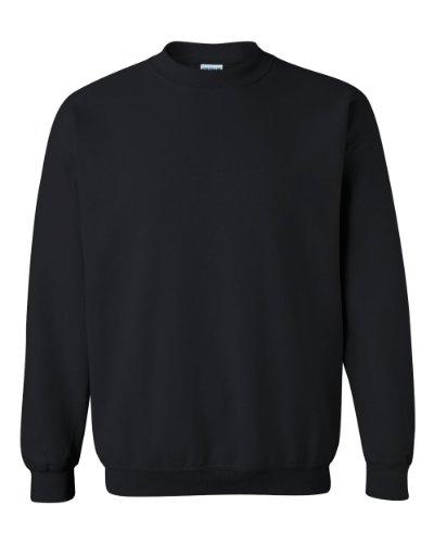 Gildan Men's Heavy Blend Crewneck Sweatshirt - Large - Black