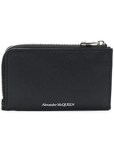 Alexander McQueen Luxury Fashion Herren 5508240PY0N1000 Schwarz Brieftaschen  