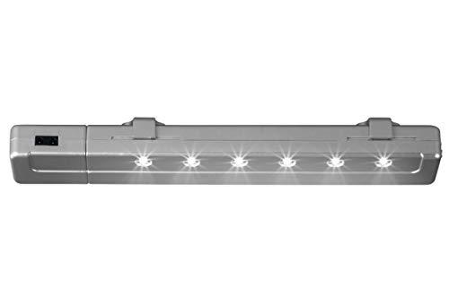 Livarno Lux LED Lichtleiste Unterbauleuchte Leuchte mit Bewegungsmelder Silber