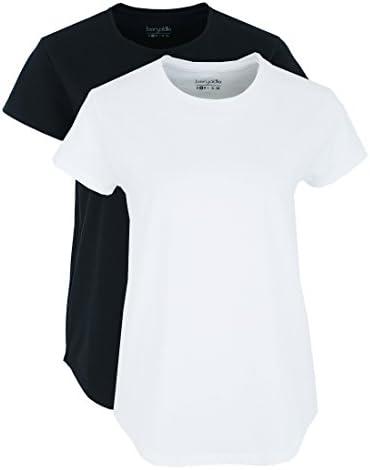 Berydale Camiseta Cuello Redondo Mujer, Pack de 2