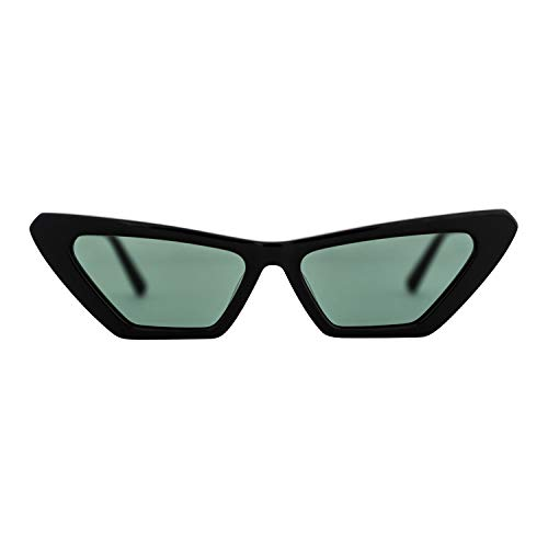 MessyWeekend New Norma - Classic, Round Danish Designer Sunglasses with UV400 protection Black