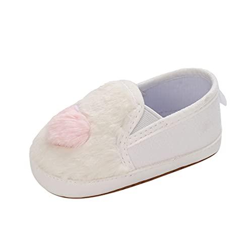 Zapatos Peludos Antideslizantes para Bebés, Vestido Suave a Juego, Zapatos De Felpa...