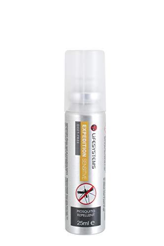 Lifesystems Unisexs Expedition Sensitive-25 ml Spray, silver, 25 ml