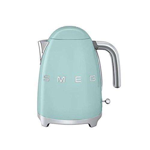 Smeg SMEG KLF01 Wasserkocher 1,7L, hellgrün pastellgrün lackiert integriertes Heizelement Soft-Opening