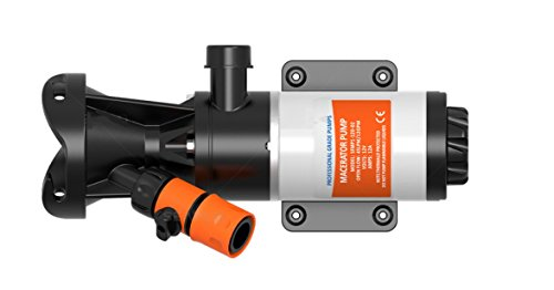 SewerFlo Quick Release RV Macerator Pump - 12V, 12GPM