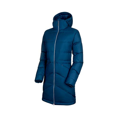 Mammut Damen Parka Fedoz in Hooded XS Bleu Sarcelle (Wing Teal)