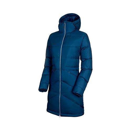 Mammut Damen Parka Fedoz in Hooded XL Bleu Sarcelle (Wing Teal)