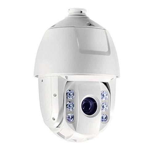 QPALZM Cámara vigilancia para Exteriores 1080P, Audio bidireccional,cámara Seguridad,detección Movimiento,Alarma,IP66 Prueba Agua,visión Nocturna Color 30M,para Garaje,Puerta