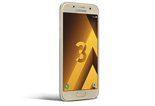 Samsung Galaxy A3 2017 Smartphone, 16 GB, Oro [EU]