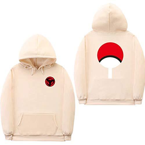 ZXRYF Naruto Cosplay Sweatshirt Manches Longues Sweat-Shirt À Capuche 3D Impression Hooded d'automne Et d'hiver Convient pour Les Hommes Et Les Femmes Sweat Capuche Cadeaux,Jaune,S