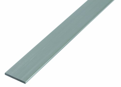 GAH-Alberts 469917 Flachstange - Aluminium, natur, 1000 x 40 x 3 mm