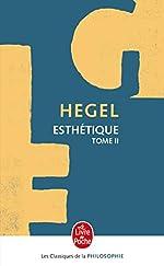 Esthétique, tome 2 de Hegel G. W. F.