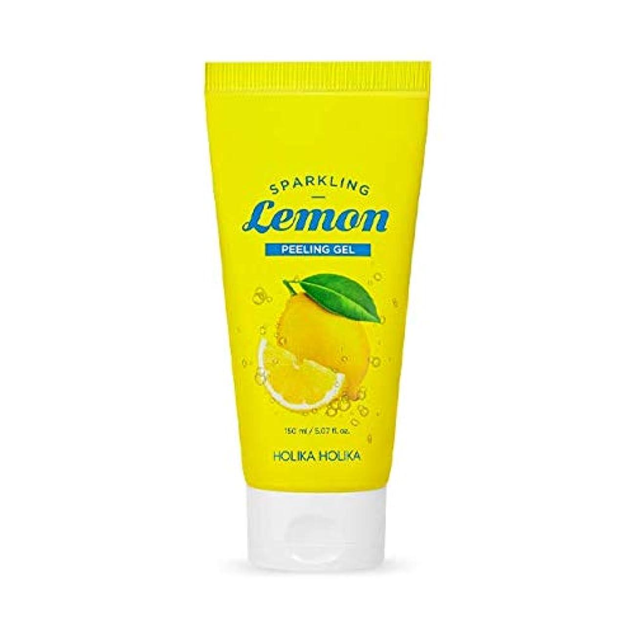 シアー保証金急襲ホリカホリカ 炭酸レモンピーリングジェル/HOLIKA Sparkling Lemon Peeling Gel 150ml 韓国コスメ [並行輸入品]