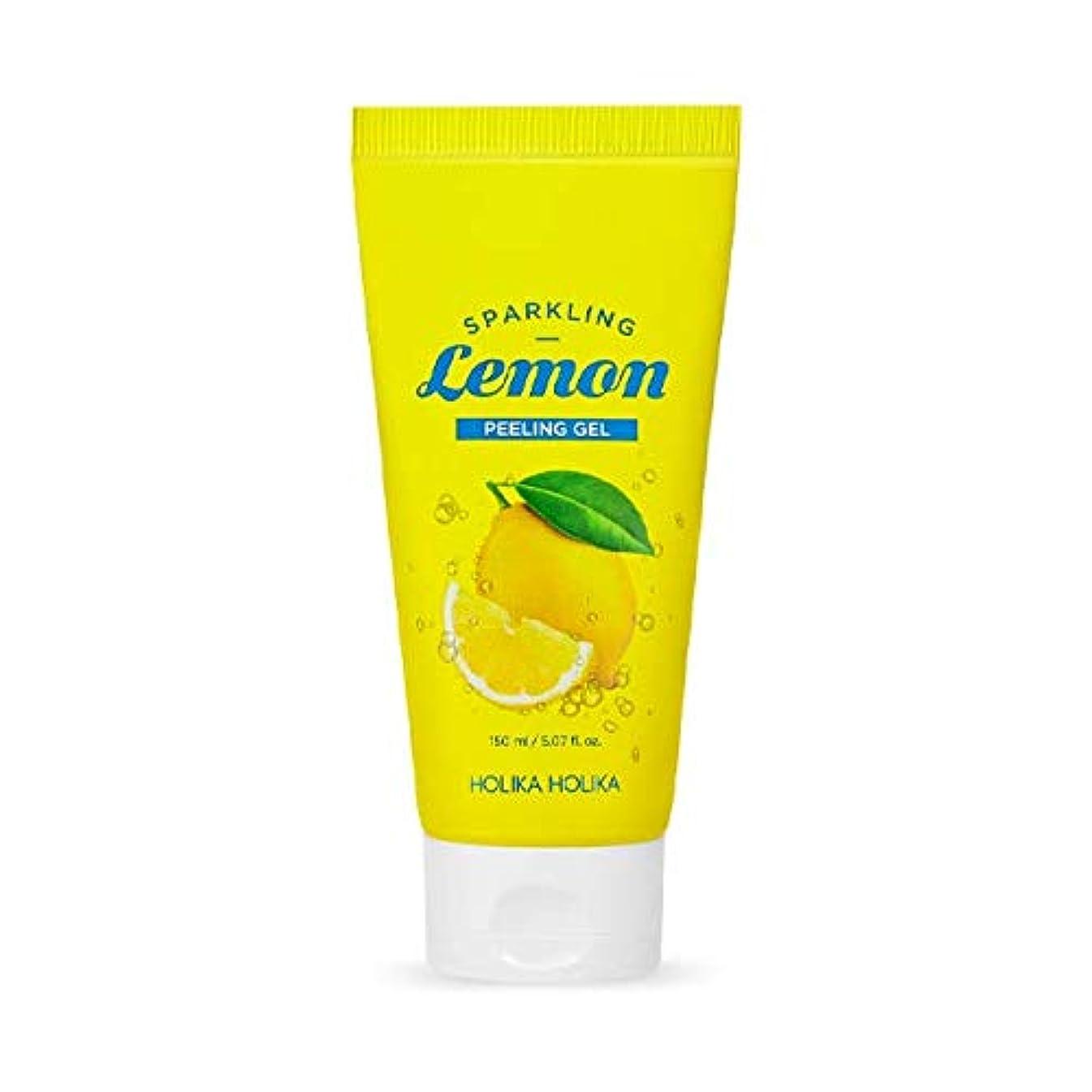 休日壁紙戸棚ホリカホリカ 炭酸レモンピーリングジェル/HOLIKA Sparkling Lemon Peeling Gel 150ml 韓国コスメ [並行輸入品]