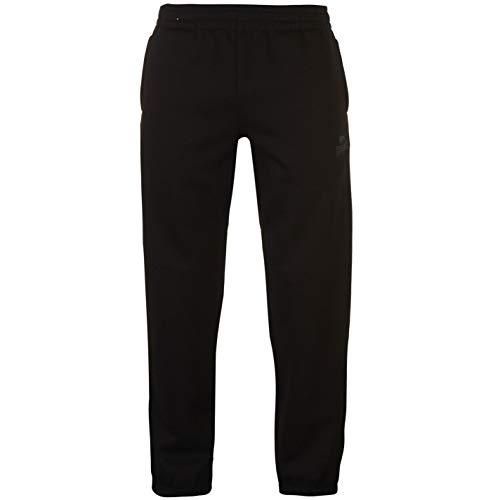 Lonsdale Essential Herren Jogginghose Taschen Schwarz L