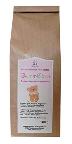 Hiller Aromatisierter Früchtetee Gummibär 200 g