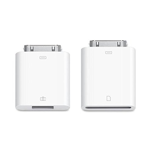 Udigital 5-in-1 Camera Connection Kit USB/SDHC/TF kaartlezer voor iPad Mini, iPad 4, iPod Touch 5 en iPod Nano 7 kleinere connector