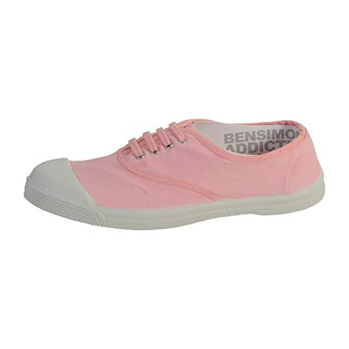 Bensimon Tennis Lacet, Sneaker Donna, Rosa (Blanc Dragée 0476), 38 EU