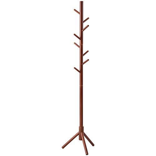 Black Wooden Coat Tree