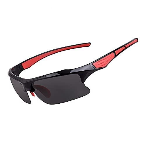 YHD Gafas De Sol, Gafas Deportivas Polarizadas ProteccióN UV con Gafas Protectoras Uv400 Aptas para Pesca Golf Y Ciclismo Unisex