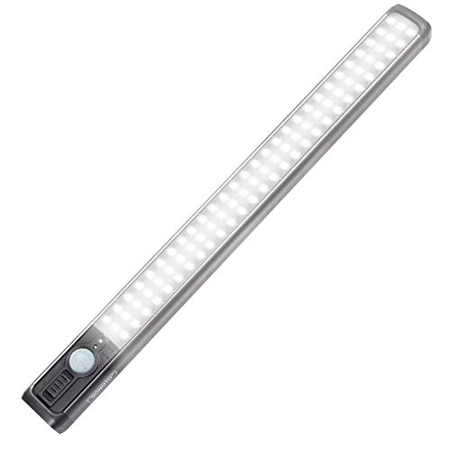84-LED Super Bright Motion Sensing Closet Light with 3 Power Modes - $23.45