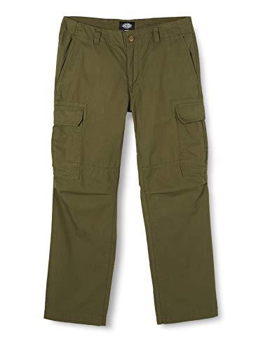 Dickies Herren New York Relaxed Fit Combat Pant Hose, Grün (Dark Olive Dko), W36/L34 (Herstellergröße: 36)