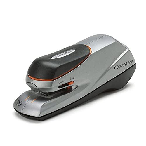 Swingline 48207 Optima Grip Electric Stapler, 20-Sheet Capacity - Silver