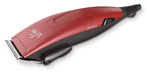 Gama Italy Professional GM562.23 - Cortapelos multiequipado, motor magnético, funcionamiento con red, corte de 1,5 a 25 mm