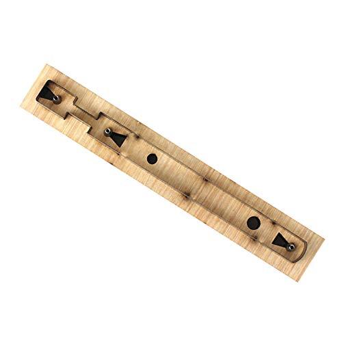 Generic Llavero personalizado corte molde tira álbum de recortes grabado para tira larga llavero DIY artesanía joyería cuchillo japonés correa de reloj - Tipo C