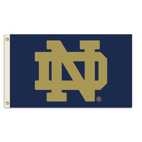 BSI NCAA College Notre Dame Fighting Irish 3 X 5 Foot Flag with Grommets