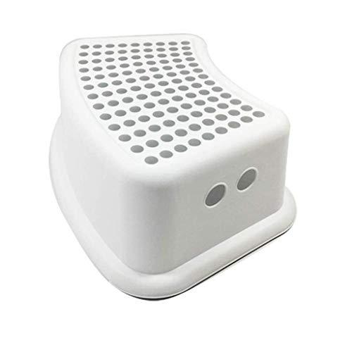 MWPO Reposapiés Taburete Antideslizante de plástico Taburetes Antideslizantes para niños Baño Lavado de Manos Taburete pequeño Hogar Multifuncional Creativo (Color: C)