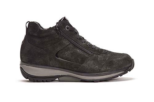 XSENSIBLE Filly Bootie, Stretch-Leather, Black Movida, Vario-Fussbett, Weite GX 30026.2.059 (Größe: 37)