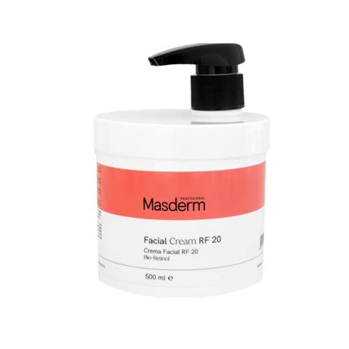 MASDERM | Crema Facial Radiofrecuencia Hidratante | Antiarrugas | Ácido Hialurónico | Colágeno | Profesional | Mujer | 500ml