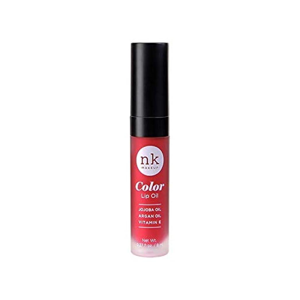 小説特権可愛い(3 Pack) NICKA K Color Lip Oil - Poppy (並行輸入品)