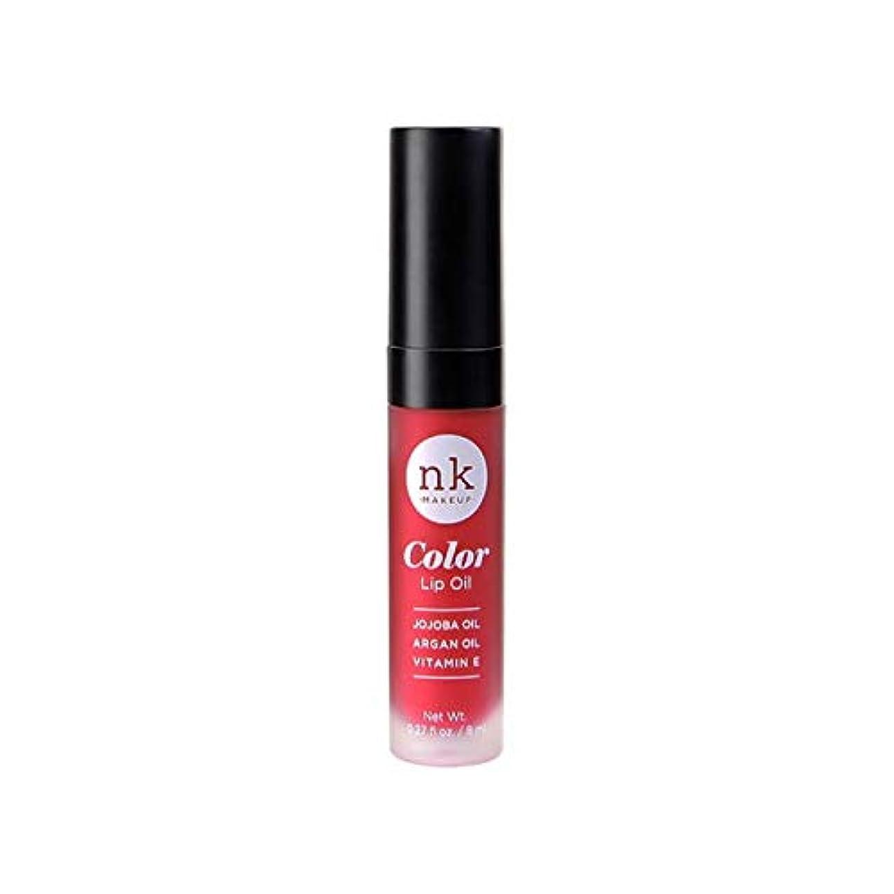 降ろすフィットネスモール(3 Pack) NICKA K Color Lip Oil - Poppy (並行輸入品)