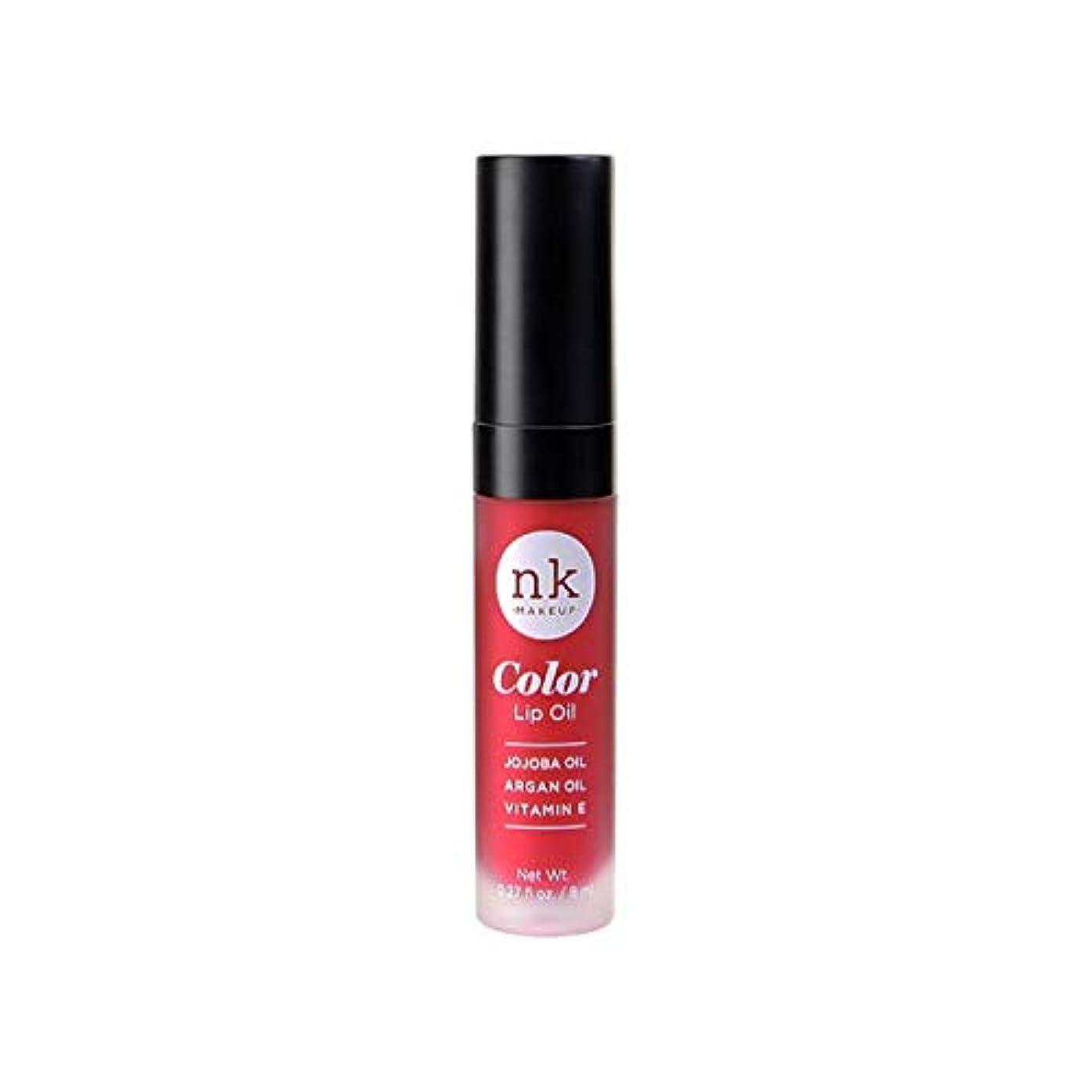 あなたのもの懐水を飲むNICKA K Color Lip Oil - Poppy (並行輸入品)