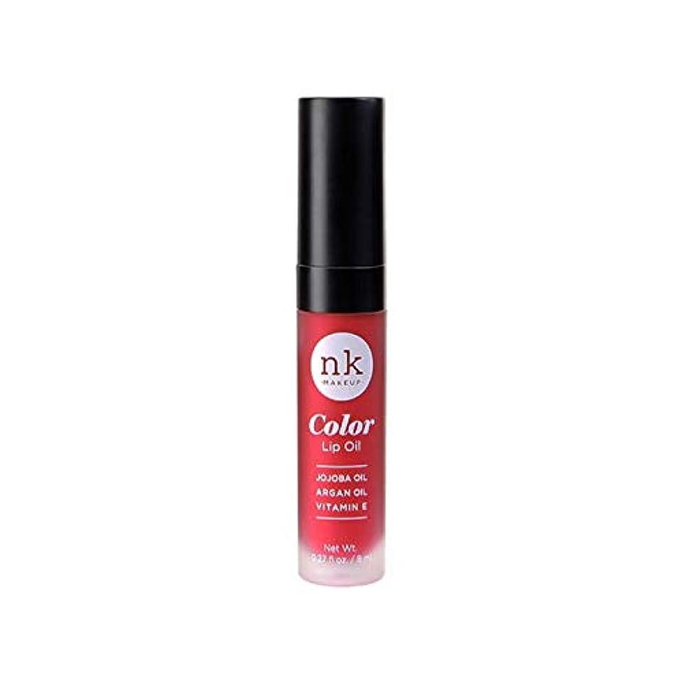 泥棚吹雪NICKA K Color Lip Oil - Poppy (並行輸入品)