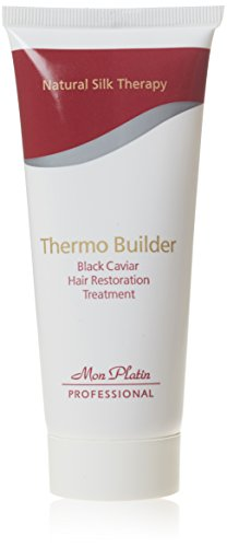 Mon Platin Professional 100ml Natural Silk Therapy Black Caviar Thermo Builder Hair Restoration Treatment