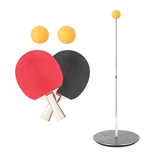 Find Bargain decwang Complete Table Tennis Training Set, Paddle Tennis Trainer with Rebound Device, ...