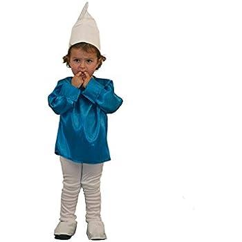 Disfraz de Pitufa (4-6 años): Amazon.es: Juguetes y juegos