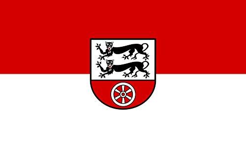 Unbekannt magFlags Tisch-Fahne/Tisch-Flagge: Hohenlohekreis (Kreis) 15x25cm inkl. Tisch-Ständer