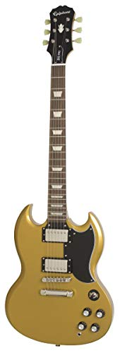 Epiphone 1961 G-400 Pro Electric Guitar, Metallic Gold