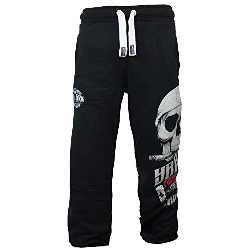 Yakuza Premium Herren Jogginghose 2680 schwarz Sweatpants L