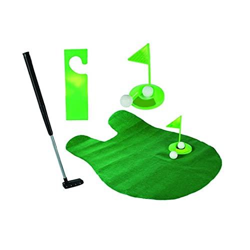 Toilette Mini Golf jeu Potty Putter Golf Putting Mat Jeu