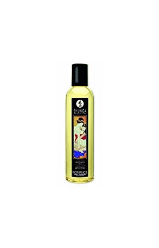 Erotik-Massage-Öl–Romance–Wein prickelt Erdbeere