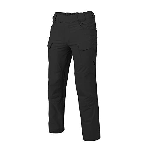 Helikon-Tex OTP Outdoor Tactical Pants, Outback Line Black Waist 34 Length 32