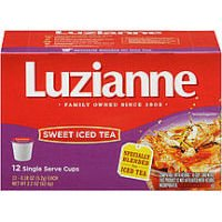 Luzianne OFFicial store Sweet Tea K-Cups 12 Count Pack online shop Of - Boxes 6