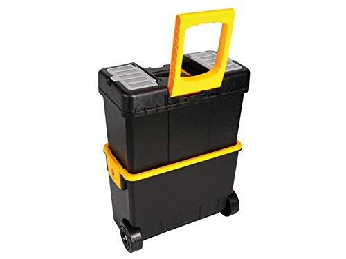 VELLEMANN TOOLLAND Werkzeugtrolley, Werkzeugkasten, Werkzeugkoffer Trolley, Kunststoff, Höhe 62 cm, MP70